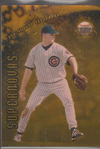 1998 Topps Kerry Woods Cubs 10/50 Supermovas Insert Baseball Card #510