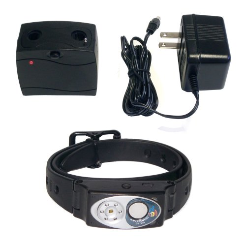High Tech Pet Humane Contain RX-10KIT Multi-function Collar with Charger and AC Adapter for X-10 Dog Fence System