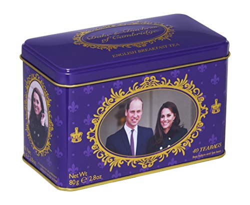 - New English Teas Duke and Duchess of Cambridge Commemorative 40 Teabags
