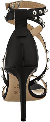 100 Women's HUGO Shoreditch Ankle Black 001 Sandal Black Strap c qOtUtx