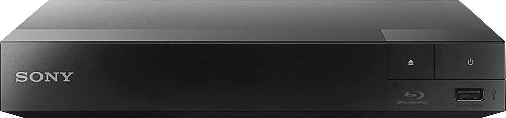 Sony BDP-S3700 Streaming WiFi Blu Ray Player with Tyler 6ft HDMI Cable (Certified Refurbished)