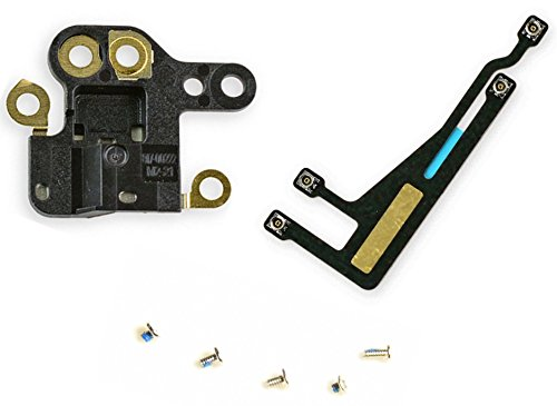 - GPS Antenna WiFi Signal Flex Ribbon Cable Replacement Kit + Module + Screws for iPhone 6 4.7