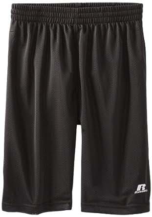Russell Athletic Big Boys' Mesh Shorts, Grey, 14/16 Large