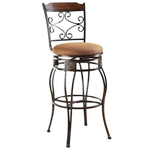 ACME Set of 2 Tavio Swivel Bar Chair