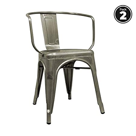 regalosMiguel - Packs Sillas Comedor - Pack 2 Sillas Torix Brazos ...