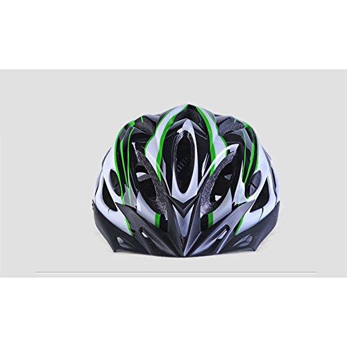 léger L'homme De Yiwa Blanc Respirant Et Cyclisme Casque Intégré Pour Bicyclette Ultra Noir qCOWZ