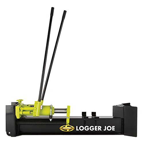 Sun Joe LJ10M Log Splitter, 10 Tons Green