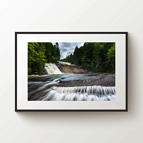 (rfy9u7 Waterfall Print Dupont State Forest North Carolina Print Blue Ridge Parkway Blue Ridge Mountains Print North Carolina Wall Art)