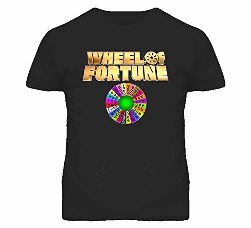 Tshirt Bandits Men's Wheel of Fortune T-Shirt X-Large Black