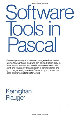 Software tools in pascal 0785342103427 computer science books software tools in pascal 0785342103427 computer science books amazon fandeluxe Images