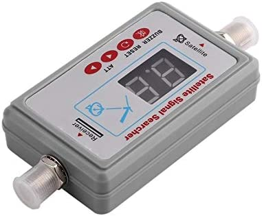 Mini Antena Digital portátil Buscador de señal satelital LCD ...