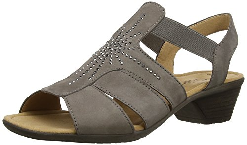 Gabor Women's Honesty Sandals Brown (Brown Nubuck) HdgaBq