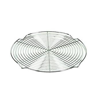 Tarta rejilla espiral de acero inoxidable con pies, tamaño ...