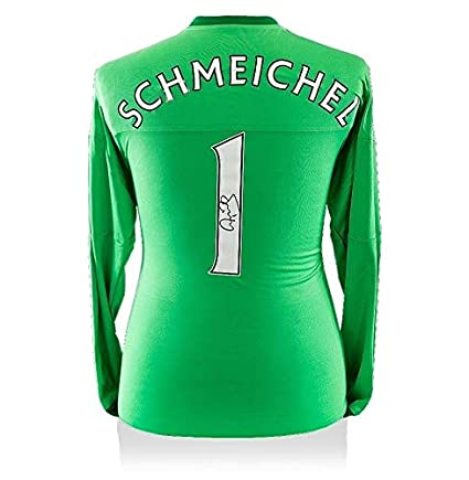 detailed look ff450 33a4d Peter Schmeichel Signed Manchester United Goalkeeper Shirt ...