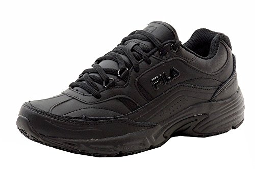 Fila Men's Memory Workshift Cross-Training Shoe,Black/Black/Black,12 4E (Fila Athletic Shoes)