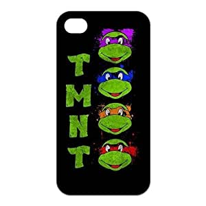 Teenage Mutant Ninja Turtles Custom TPU Case For Iphone 4 4s
