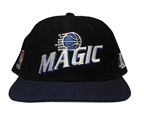 Era Vintage Hat (Vintage Orlando Magic Grid Snapback Cap Hat Deadstock NBA Dad Cap Hat Retro Logo Ball Cap)