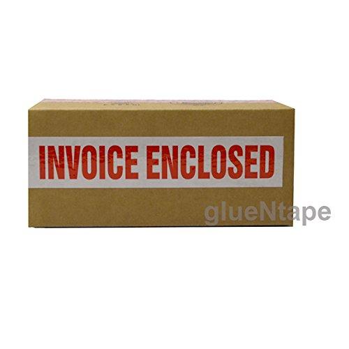 INVOICE ENCLOSED Preprinted Carton Sealing Packing Tape 2