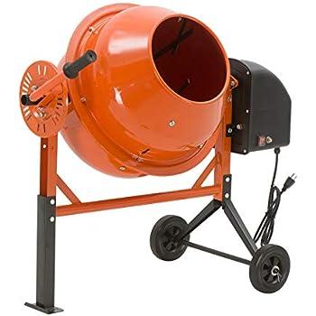 Amazon com: 1/3 Hp Electric Cement Mixer 3 5 Cubic Ft