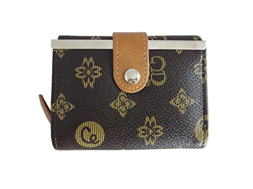 Womens Compact Leather Elite Trend product image