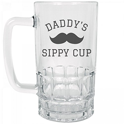 Daddys-Sippy-Cup-Gifts-For-Dad-20oz-Clear-Glass-Beer-Stein