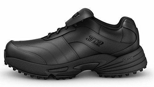 Baseball Umpire Shoe (3N2 7335-0101-105 Reaction Umpire Field Shoe Mens44; Black - 10.5)