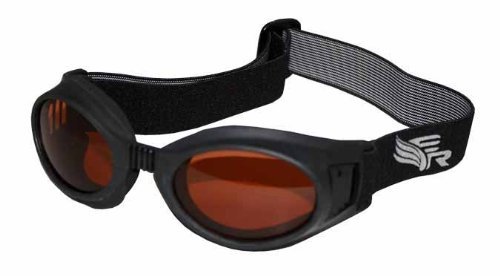 Eye Ride Max 360 Glasses (Black/Amber) ()