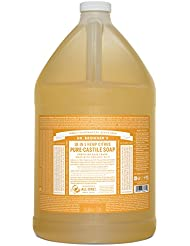 Dr. Bronner's Pure-Castile Liquid Soap - Citrus, 1 Gallon