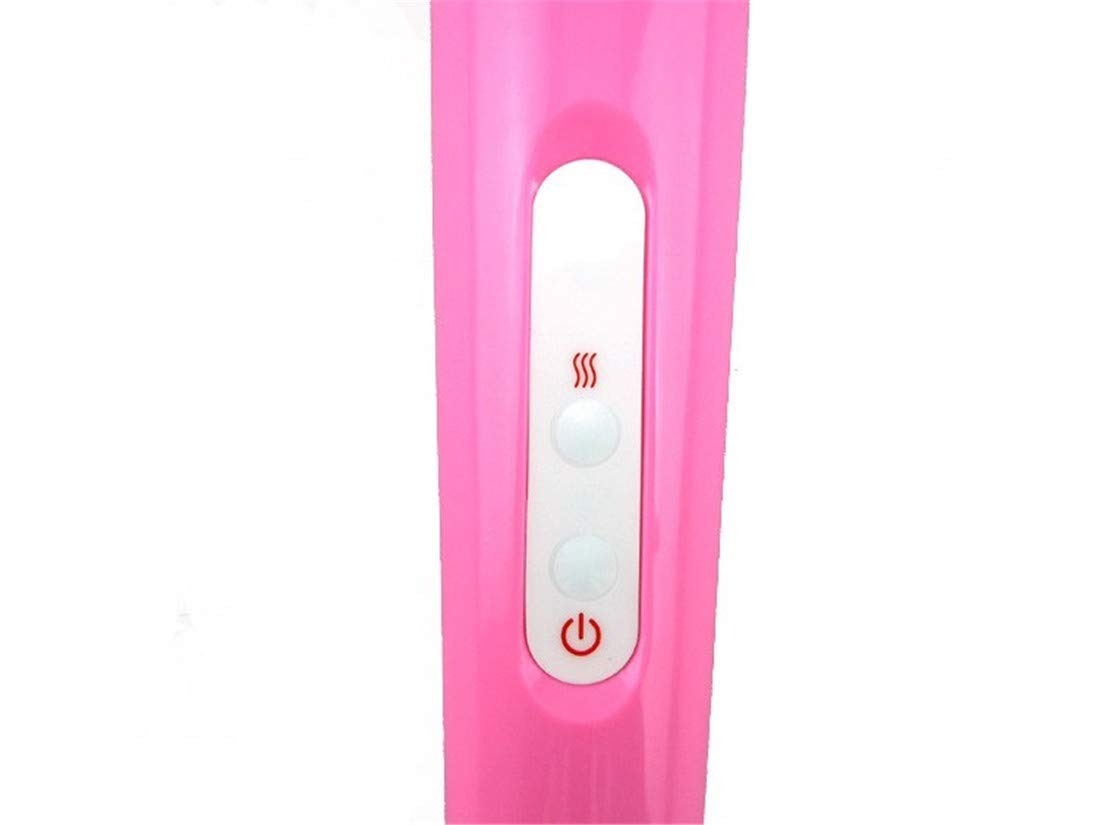 DVFNDIV 10 Una Frecuencia Gran Palo de Masaje con Una 10 Sola Pieza de la Capucha Masturbación Femenina Pareja Coqueteando G-Spot Vibración Estimulación Juguetes Adultos del Sexo Carga USB AV Vibrador 812e32