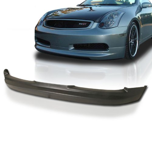 Infiniti G35 2dr Coupe GL Style Urethane Front Bumper Lip
