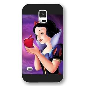 Onelee Customized Black Hard Plastic Disney Cartoon Snow White Samsung Galaxy S5 Case