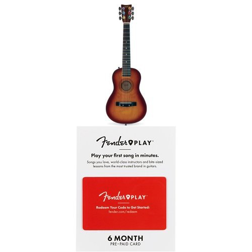 First Act FG127 Acoustic Guitar with 6 Months of Fender Play