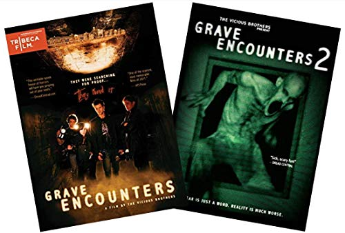 - Grave Encounters / Grave Encounters 2: 2-Movie Horror Double Feature DVD Collection