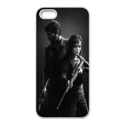 The Last of Us Phone Case And One Free Tempered-Glass Screen Protector For iPhone 5,5S T118148