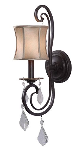 World Imports Lighting 8854-89 Annelise 1-Light Wall Sconce by World Imports Lighting