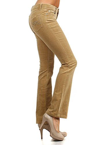 f40ea1eb314 Limit 33 Juniors Teen Small Medium Large XL Corduroy Pants Low Rise Boot  Cut School Work