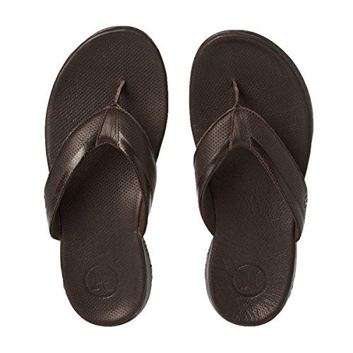 Hurley Sandals Men Phantom Free Elite Sandals Baroque Brown 81PCgr