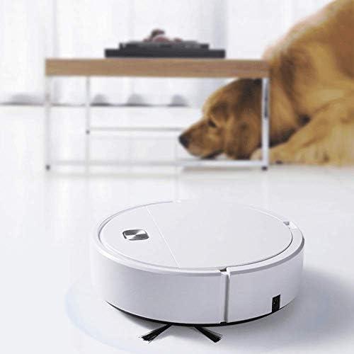 ZEH Robot Aspirateur et Mop Cleaner 7cm Ultra Slim Ultra Solide Aspiration Calme Robot Idéal for Animaux Poil Dur Floors Mince Tapis FACAI