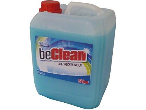 Allzweckreiniger beclean fresh blue 5 Liter Kanister für strahlende Sauberkeit