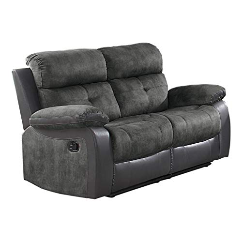 - Homelegance Manual Double Reclining Love Seat, 60