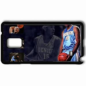Personalized Samsung Note 4 Cell phone Case/Cover Skin Anthony Carmelo Basketball Player Denver Black