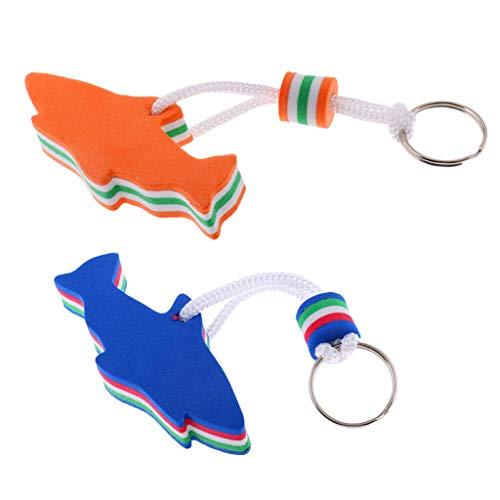 - NATFUR 2Pcs Orange Blue Dolphin Floating Boat Keyring Keychain Floatable Key Holder Elegant Pretty Novelty for Men Perfect for Girls for Gift Elegant Pretty Novelty