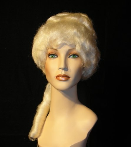 Ladies Colonial Wig (White Colonial Lady Wig)