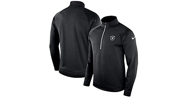 Amazon.com: Nike Oakland Raiders Therma Pullover - Chaqueta ...
