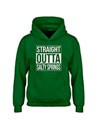 Indica Plateau Straight Outta Salty Springs Kids Hoodie