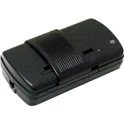 Regulador de luz para pie color negro Modelo 5000 RS 7101 con rango de potencia 60 a 300W