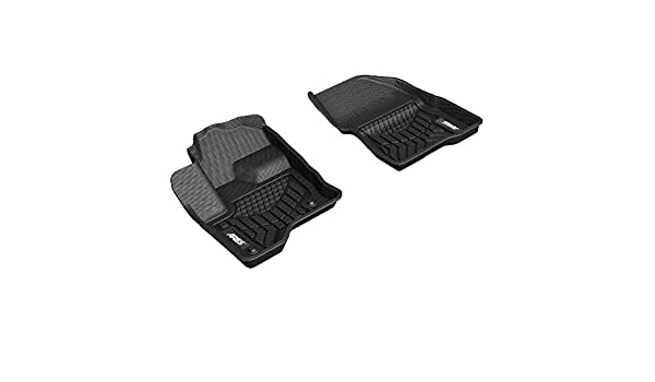 Amazon Com Aries Fr02111809 Styleguard Xd Black Custom Floor Liners Select Ford Flex Sel 1st Row Only Automotive
