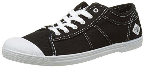 des 02 Femme Basic Noir Black Le Cerises Baskets Femme Temps OwP65