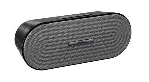 HMDX Rave Portable Rechargeable Wireless Speaker, Grey (Jam Hdmx Headphones)