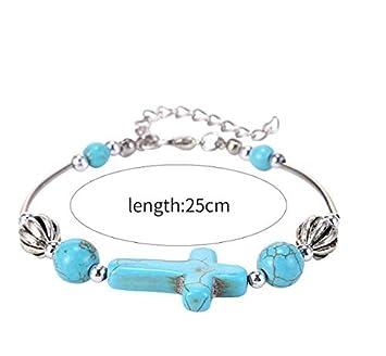 Bracelet Jewelry.1 2 Pcs WEILYDF Turquoise Bracelet Classic Luxury Women Summer Unique Design Beaded Imitation Gemstone Bracelet Jewelry